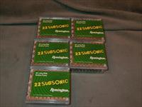 Remington 22LR Subsonic Hollow Points 500 rounds