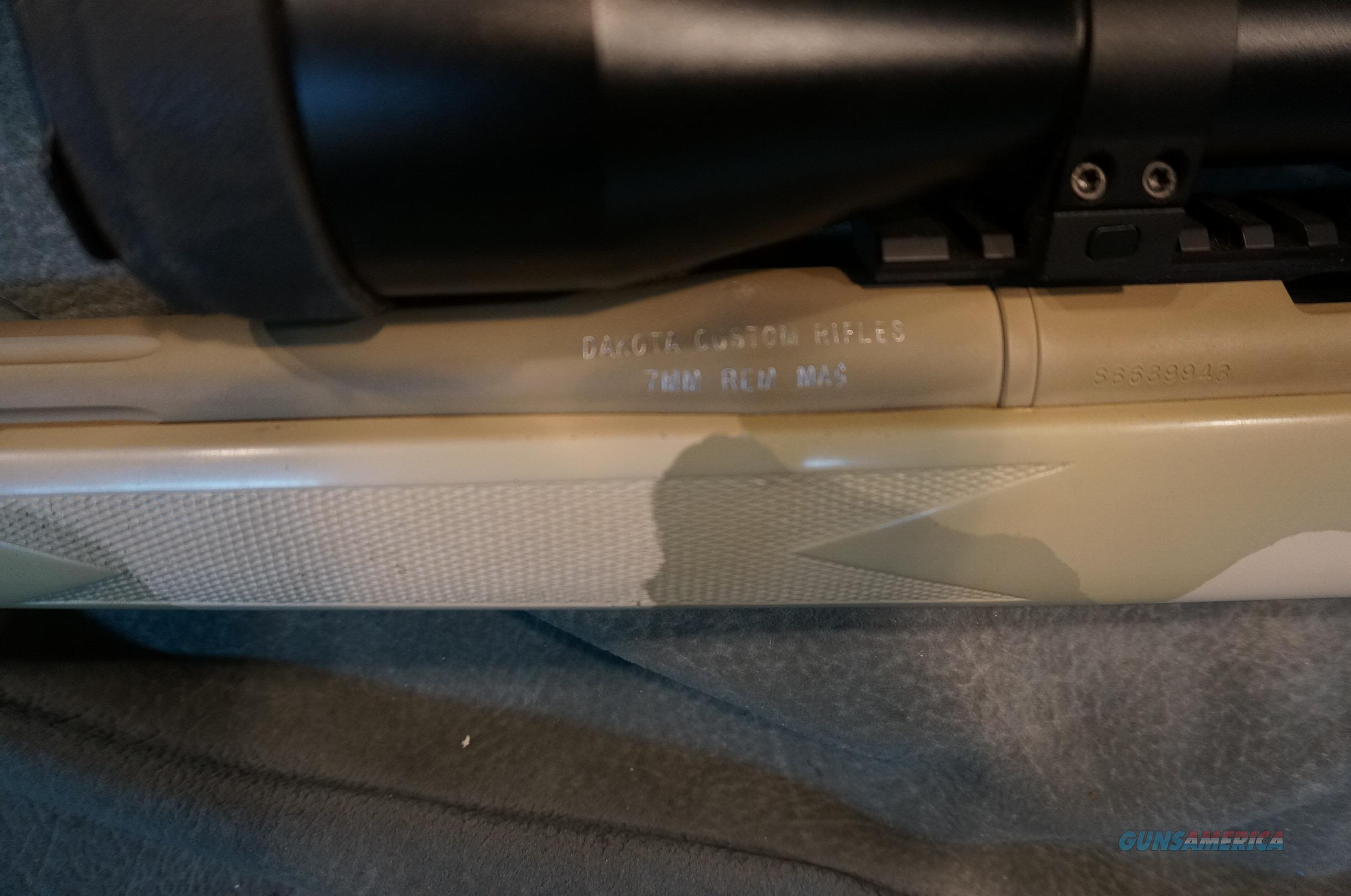 Dakota Custom Rifles 7mmRemMag w/Huskemaw 5-20X scope