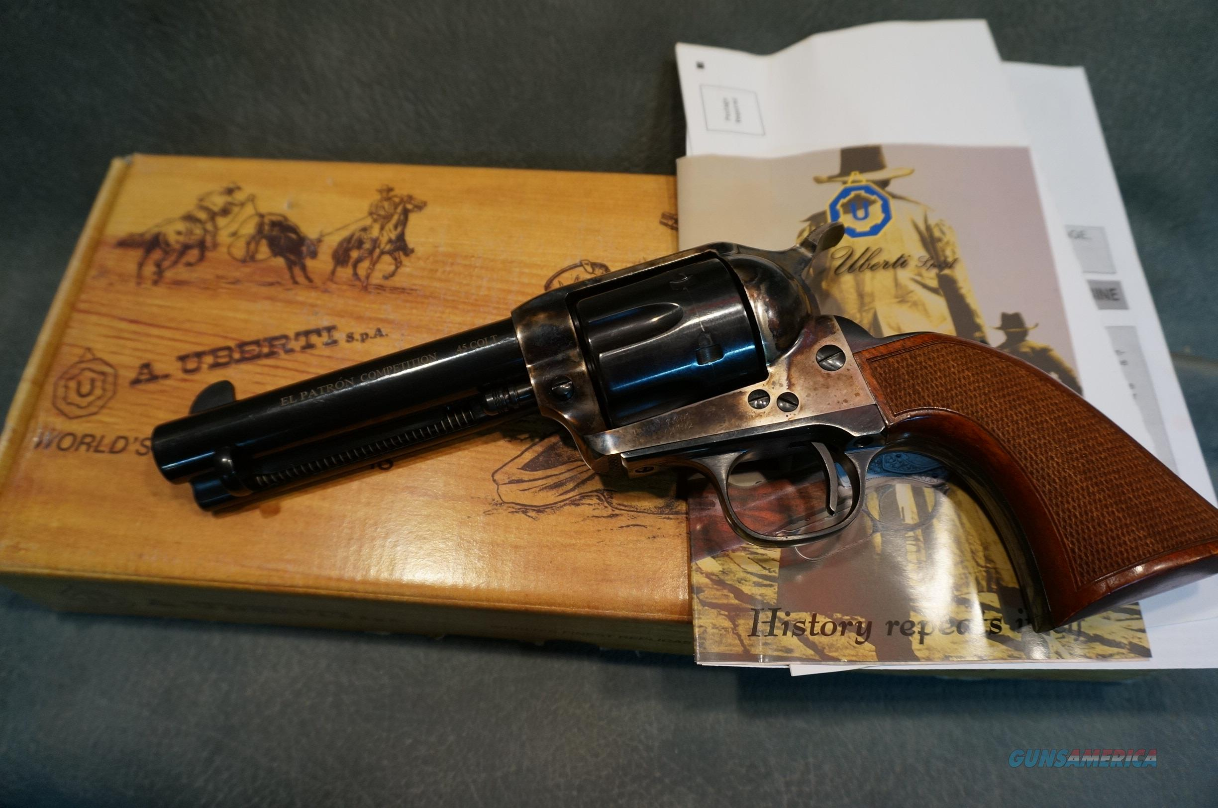 uberti 1873 el patron competition 45lc 4 3 4 a for sale