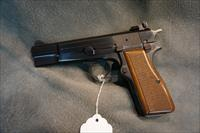 Belgium Browning Hi Power 9mm adjustable sights.
