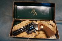 Early Colt Python w/box and papers from 1962.