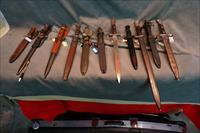11 pc bayonet collection
