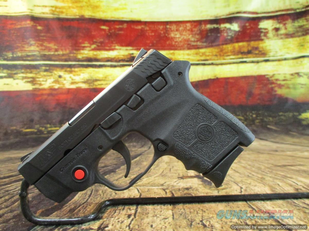 Smith & Wesson 380 ACP M&P Bodyguard W/ Crimson Trace No Safety USED (66270)