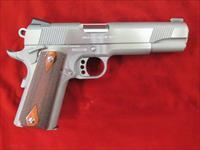 COLT GOVT. MODEL 1911 ENHANCED SERIES STAINLESS 45ACP (O1070XSE) USED