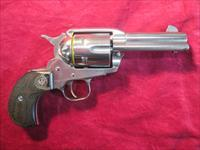 "RUGER VAQUERO BIRDSHEAD 44MAGNUM 3"" POLISHED STAINLESS NEW  (10596)"
