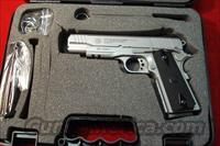 TAURUS STAINLESS 1911 W/TAC RAIL NEW