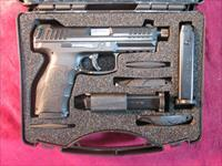 HK VP9 9MM TACTICAL STRIKER FIRED W/ NIGHT SIGHTS, THREADED BARREL AND 3 HIGH CAP MAGS NEW (700009TLE-A5)