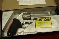 "TAURUS RAGING BULL MODEL 454CP STAINLESS PORTED 5"" 454 CASULL NEW"