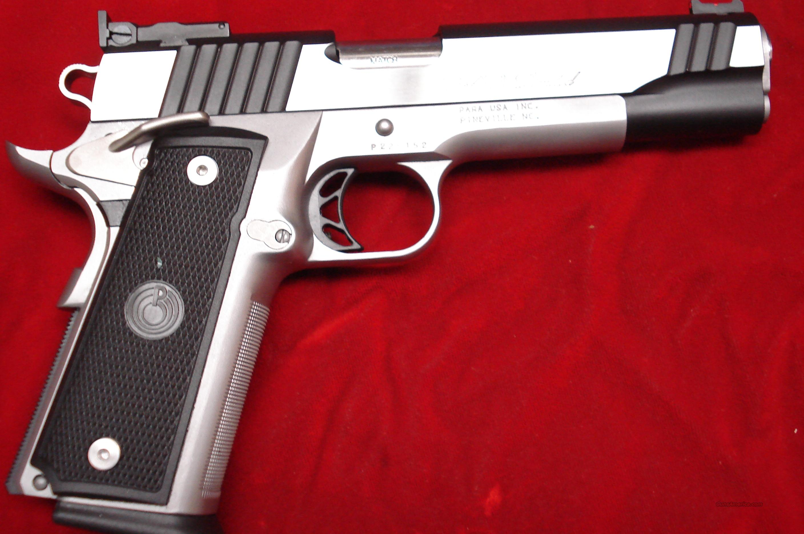 Para Ordnance Stainless P16 40 Limited High Cap For Sale