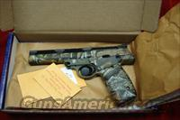 "SMITH AND WESSON 22A REALTREE CAMO 22LR. 5.5"" BULL BARREL  NEW"