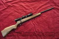 SAVAGE 17HMR ACCUTRIGGER HEAVEY BARREL WOOD STOCK SCOPE PACKAGE NEW (93R17GVXP)