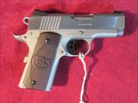 "COLT DEFENDER 45ACP 3"" STAINLESS CERAKOTE NEW  (O7000XE)"