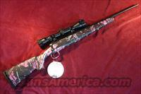 SAVAGE AXIS XP YOUTH 223 CAL MUDDY GIRL CAMO NEW