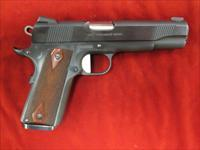COLT GOVERNMENT MODEL BLUE 45ACP W/ WILSON UPGRADES USED (01980XSE)