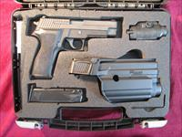 SIG SAUER P226 9MM TAC PAC W/ LASER LIGHT USED
