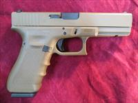 GLOCK 22 40CAL GEN 4 FULL FLAT DARK EARTH W/ 3 HIGH CAPACITY MAGS 4 BACKSTRAPS NEW