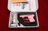 RUGER PINK LCP (Lightweight Compact Pistol) 380CAL. NEW