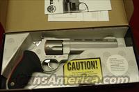 "TAURUS RAGING BULL MODEL 454CP STAINLESS PORTED 6.5"" 454 CASULL NEW"