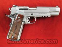 "SMITH AND WESSON SW1911TA ""E"" SERIES STAINLESS WITH TAC. RAIL USED"