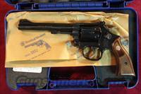 "SMITH AND WESSON MODEL 17 CLASSIC 22CAL 6"" BLUE NEW   (150477)"
