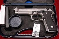 BERETTA  92FS INOX 9MM STAINLESS NEW