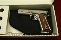 RUGER SR1911 COMMANDER STAINLESS 45ACP NEW (06702)