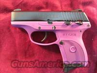 RUGER LC380 PURPLE (Lightweight Compact pistol) 380CAL. NEW
