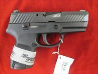 "SIG SAUER P 320 SUB COMPACT 3.6"" W/ 3 DOT SIGHTS NEW  (320SC-9-B)"