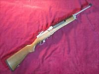 RUGER MINI-14 STAINLESS RANCH RIFLE .223 CAL USED