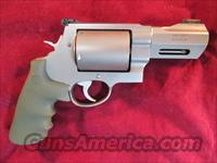 "SMITH AND WESSON 460 XVR REVOLVER 3.5"" BARREL, HIGH VIZ FRONT SIGHT NEW"