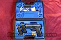 FN FNX-40 .40 CAL STAINLESS 3 HIGH CAPACITY MAGS USED