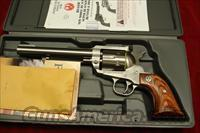 "RUGER NEW MODEL BLACKHAWK 357MAG 6.5"" STAINLESS NEW  (KBN-36)"