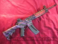 SMITH AND WESSON MP15-22 PURPLE PLATINUM W/ 25RND MAG. NEW  (10041)