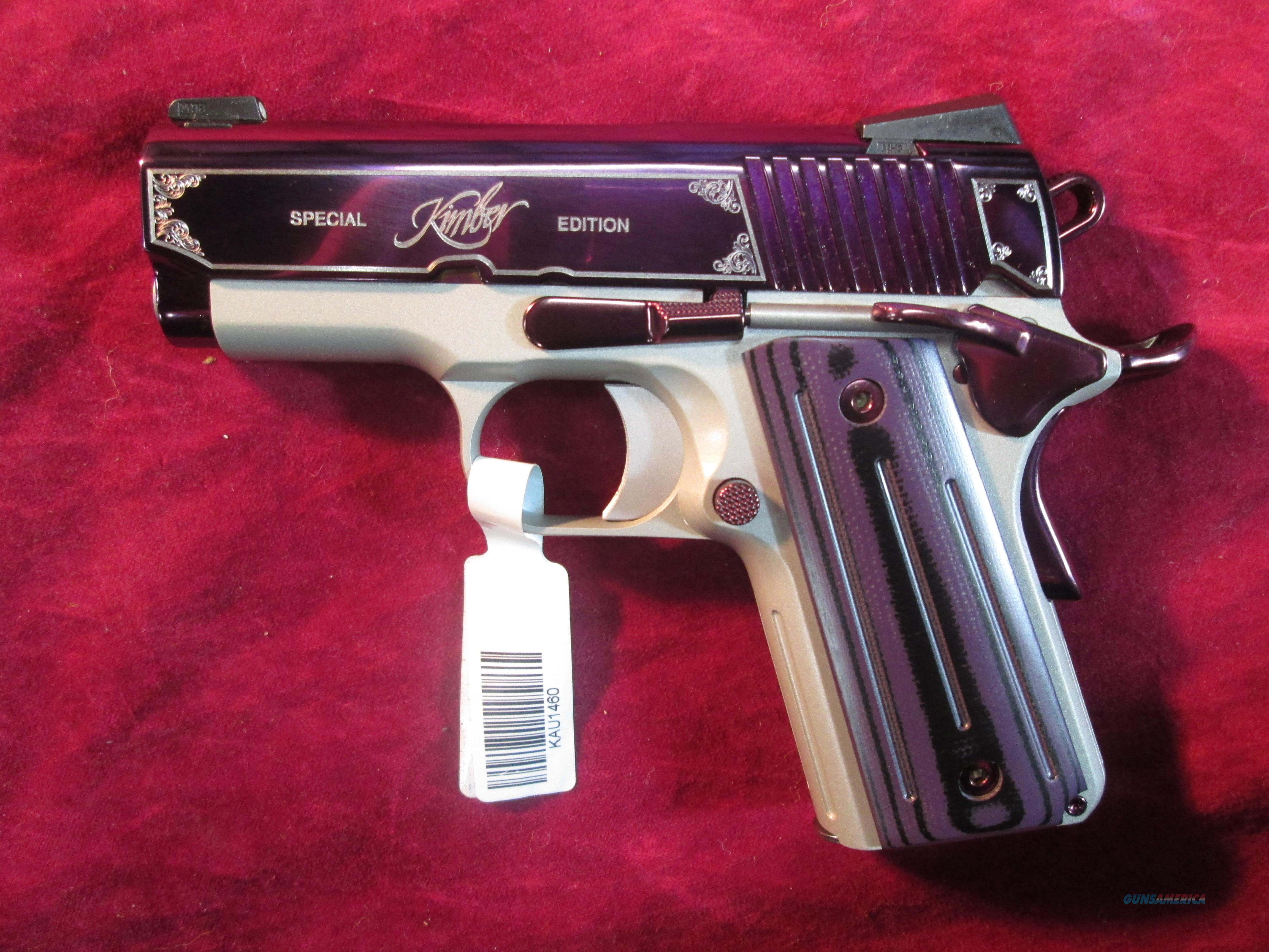 Kimber 9mm special edition