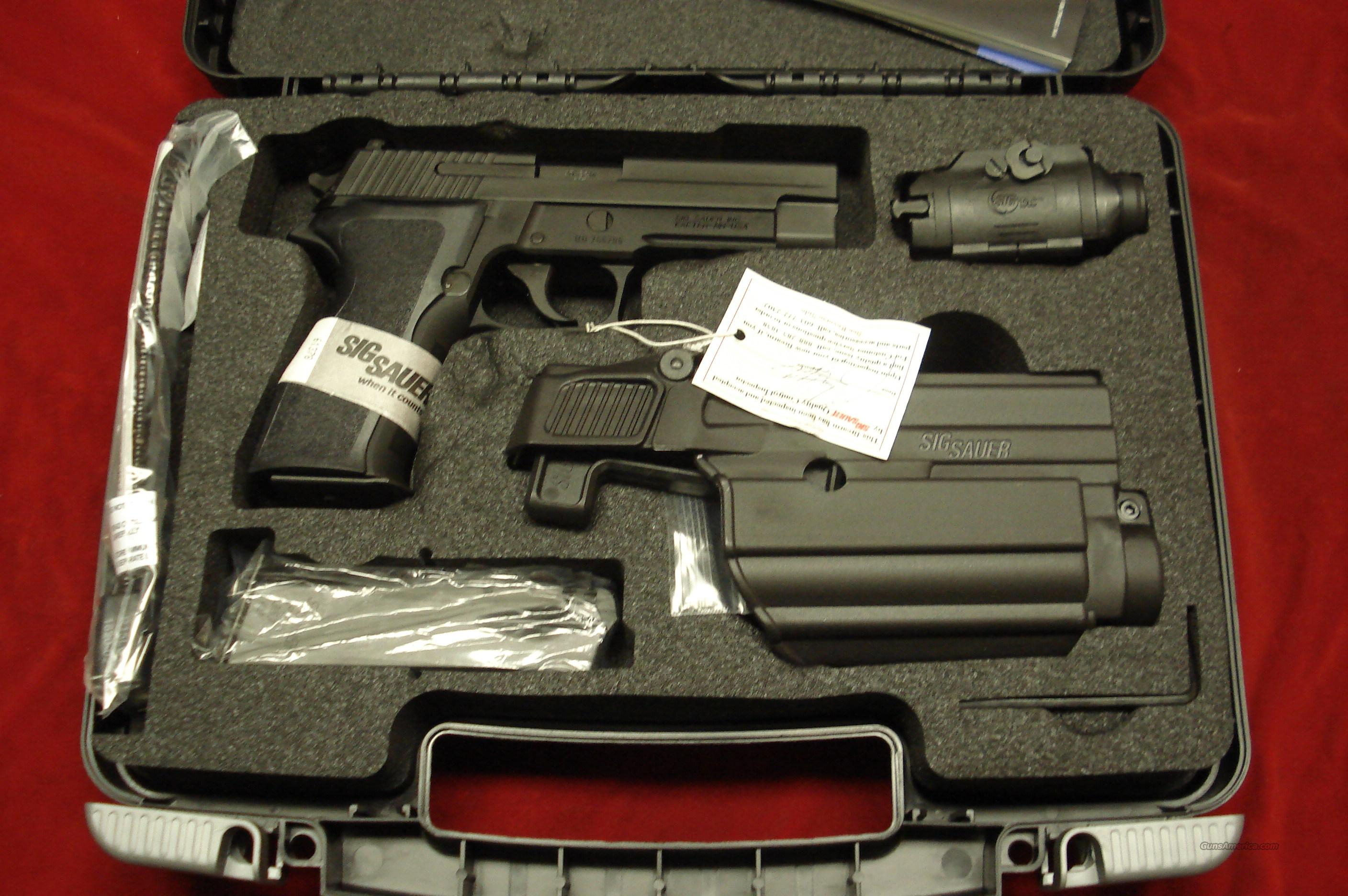 sig sauer p226 40 cal tac pac with night sight for sale