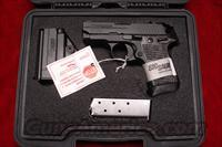 SIG SAUER P238 380CAL. W/NIGHT SIGHTS AND G-10 GRIPS NEW  (238-380-XTM-BLKGRY)