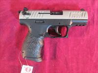 "WALTHER P22 3.42"" NICKLE NEW"
