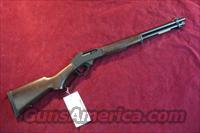 HENRY 45-70 CAL. BLUE STEEL RECEIVER WITH ROUND BARREL NEW