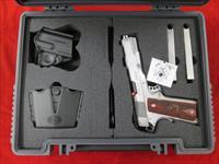 SPRINGFIELD ARMORY STAINLESS RANGE OFFICER 1911 45ACP W/ ADJUSTABLE SIGHTS NEW  (PI9124LP)