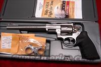 "RUGER SUPER REDHAWK HUNTER 9.5"" STAINLESS 44MAG. WITH RINGS NEW IN THE BOX (05502)"