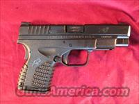 "SPRINGFIELD XDS 4"" BLACK 9MM NEW"
