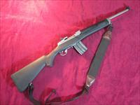 RUGER MINI 14 RANCH RIFLE STAINLESS /SYNTHETIC .223 CAL USED