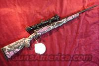 SAVAGE AXIS XP 243 CAL MUDDY GIRL CAMO YOUTH W/SCOPE NEW  (19976)
