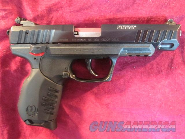 Ruger Sr22 Blued 45 Barrel New 03620 For Sale
