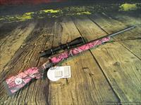 Savage 243 Win. Youth 11 Trophy Hunter XP Muddy Girl Nikon Scope New (22206)