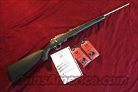 RUGER 77/22MAG. STAINLESS SYNTHETIC NEW