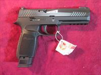 "SIG SAUER P320 TACOPS 4.6"" 9MM STRIKER FIRED PISTOL W/FOUR 21 ROUND MAGS NEW (320F-9-BSS-TACOPS)"