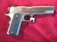 COLT COMPETITION PISTOL 45ACP GOVERNMENT MODEL STAINLESS NEW (01080CCS)