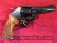 "SMITH AND WESSON 4"" CLASSIC MODEL 48,  22MAG BLUE FINISH NEW"