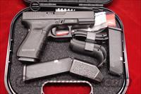 GLOCK NEW MODEL 19 GENERATION 4 .9MM CAL. WITH 3 HIGH CAPACITY MAGAZINES NEW